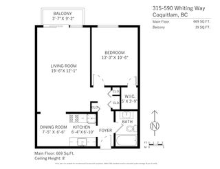 """Photo 14: 315 590 WHITING Way in Coquitlam: Coquitlam West Condo for sale in """"Balmoral Terrace"""" : MLS®# R2459730"""