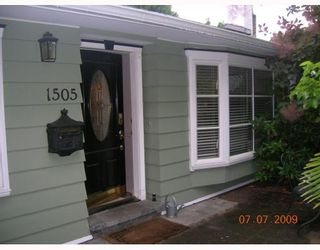 """Photo 2: 1505 W 15TH Street in North_Vancouver: Norgate House for sale in """"NORGATE"""" (North Vancouver)  : MLS®# V775718"""