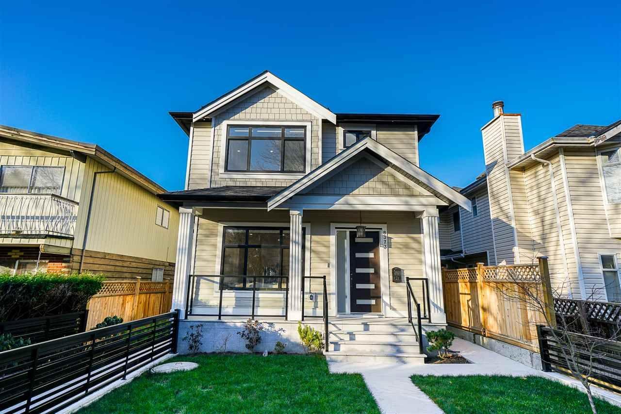 Main Photo: 8377 LAUREL Street in Vancouver: Marpole 1/2 Duplex for sale (Vancouver West)  : MLS®# R2422490