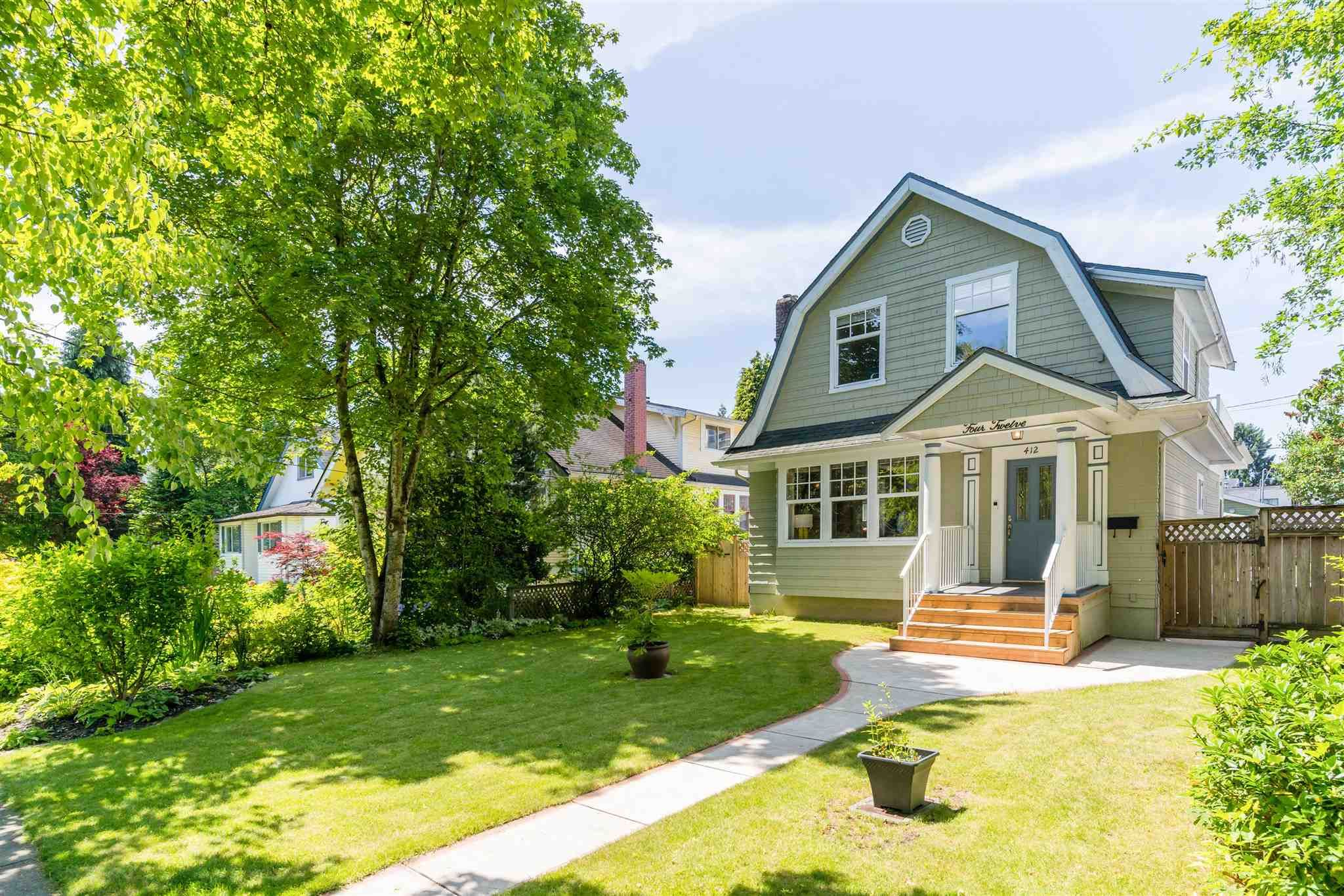 Photo 34: Photos: 412 FIFTH STREET in New Westminster: Queens Park House for sale : MLS®# R2594885