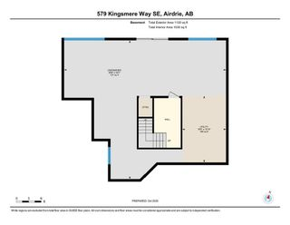Photo 40: 579 Kingsmere Way SE: Airdrie Detached for sale : MLS®# A1045570