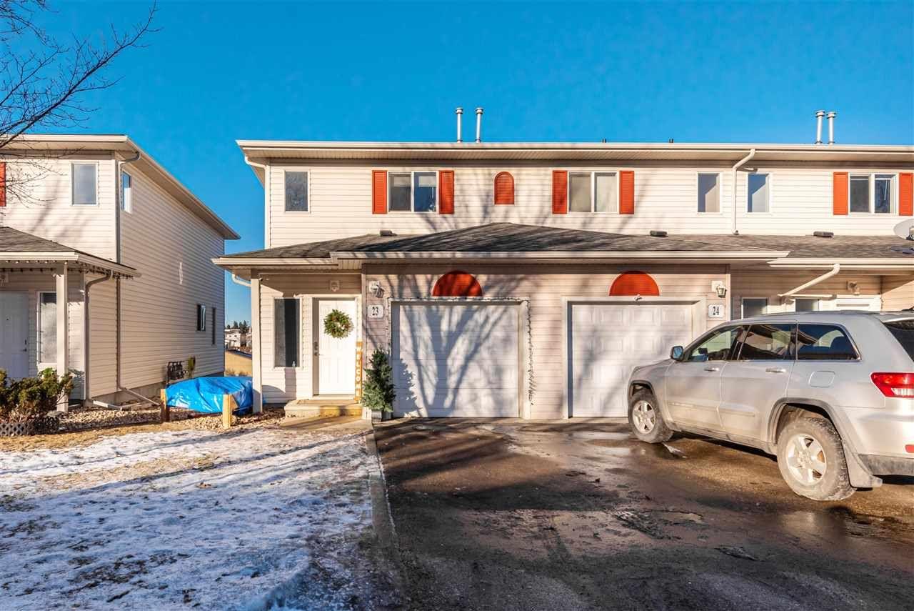 Main Photo: #23 451 Hyndman CR in Edmonton: Zone 35 Townhouse for sale : MLS®# E4228205