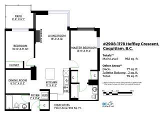 "Photo 20: 2908 1178 HEFFLEY Crescent in Coquitlam: North Coquitlam Condo for sale in ""OBELISK"" : MLS®# R2141129"