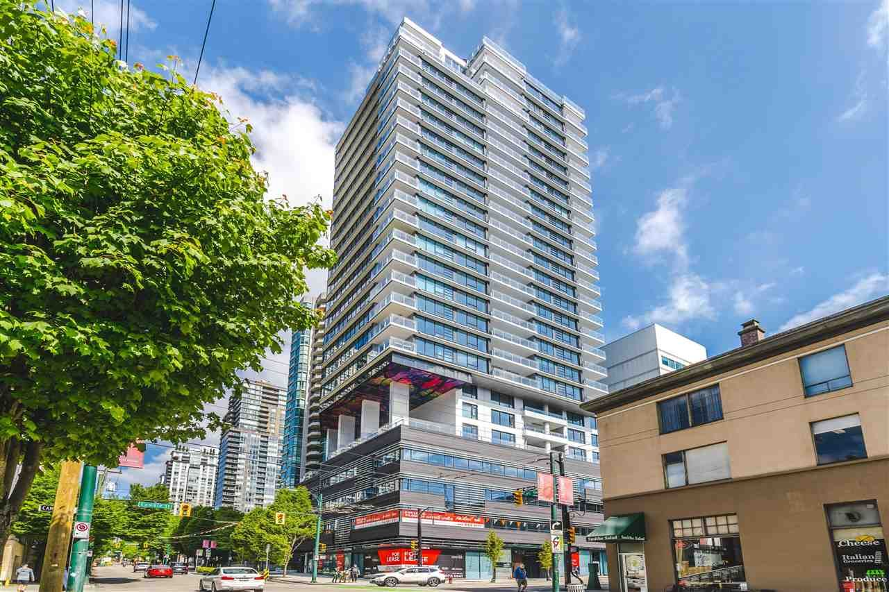 Main Photo: 1605 885 CAMBIE Street in Vancouver: Downtown VW Condo for sale (Vancouver West)  : MLS®# R2588364