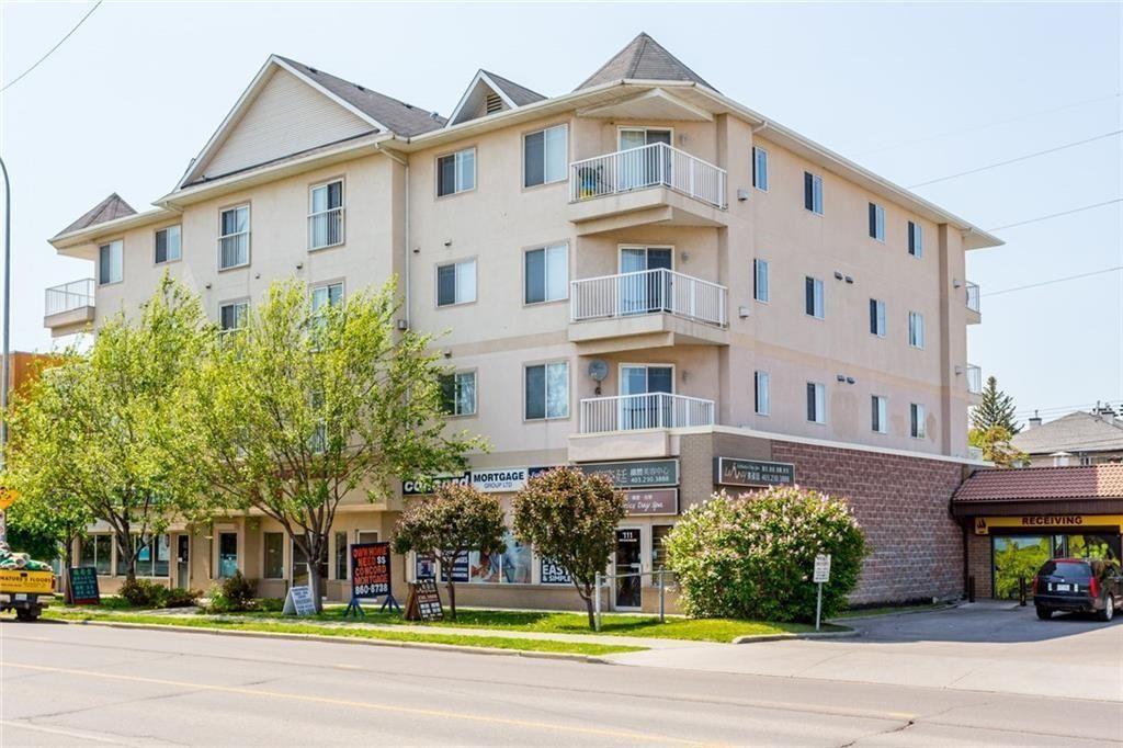 Main Photo: 203 1905 CENTRE Street NW in Calgary: Tuxedo Park Apartment for sale : MLS®# C4273670