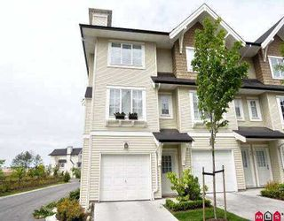"""Photo 1: 37 20560 66TH AV in Langley: Willoughby Heights Townhouse for sale in """"AMBERLEIGH"""" : MLS®# F2516772"""
