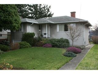 Photo 1: 1875 Townley St in VICTORIA: SE Camosun House for sale (Saanich East)  : MLS®# 696549