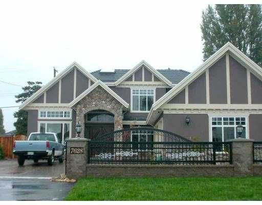 Main Photo: 7628 BELAIR DR in Richmond: Broadmoor House for sale : MLS®# V561435