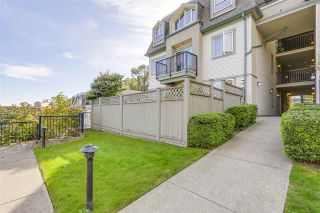"""Photo 2: 102 219 BEGIN Street in Coquitlam: Maillardville Townhouse for sale in """"PLACE FOUNTAINE BLEU"""" : MLS®# R2206798"""