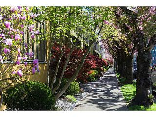 """Photo 10: 30 795 W 8TH Avenue in Vancouver: Fairview VW Townhouse for sale in """"DOVER POINTE"""" (Vancouver West)  : MLS®# V1002924"""