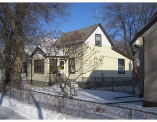 Photo 2: 1505 BANNATYNE Avenue West in WINNIPEG: Brooklands / Weston Residential for sale (West Winnipeg)  : MLS®# 2802121