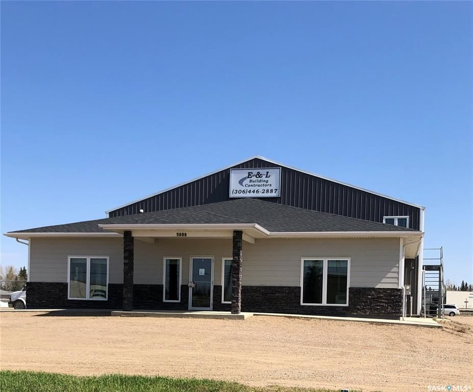 Main Photo: 9808 Thatcher Avenue in North Battleford: Parsons Industrial Park Commercial for sale : MLS®# SK808560