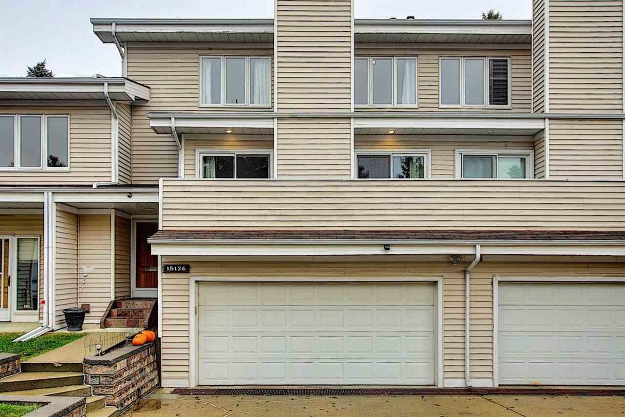 Main Photo: 15126 45 Avenue in Edmonton: Zone 14 Townhouse for sale : MLS®# E4219666
