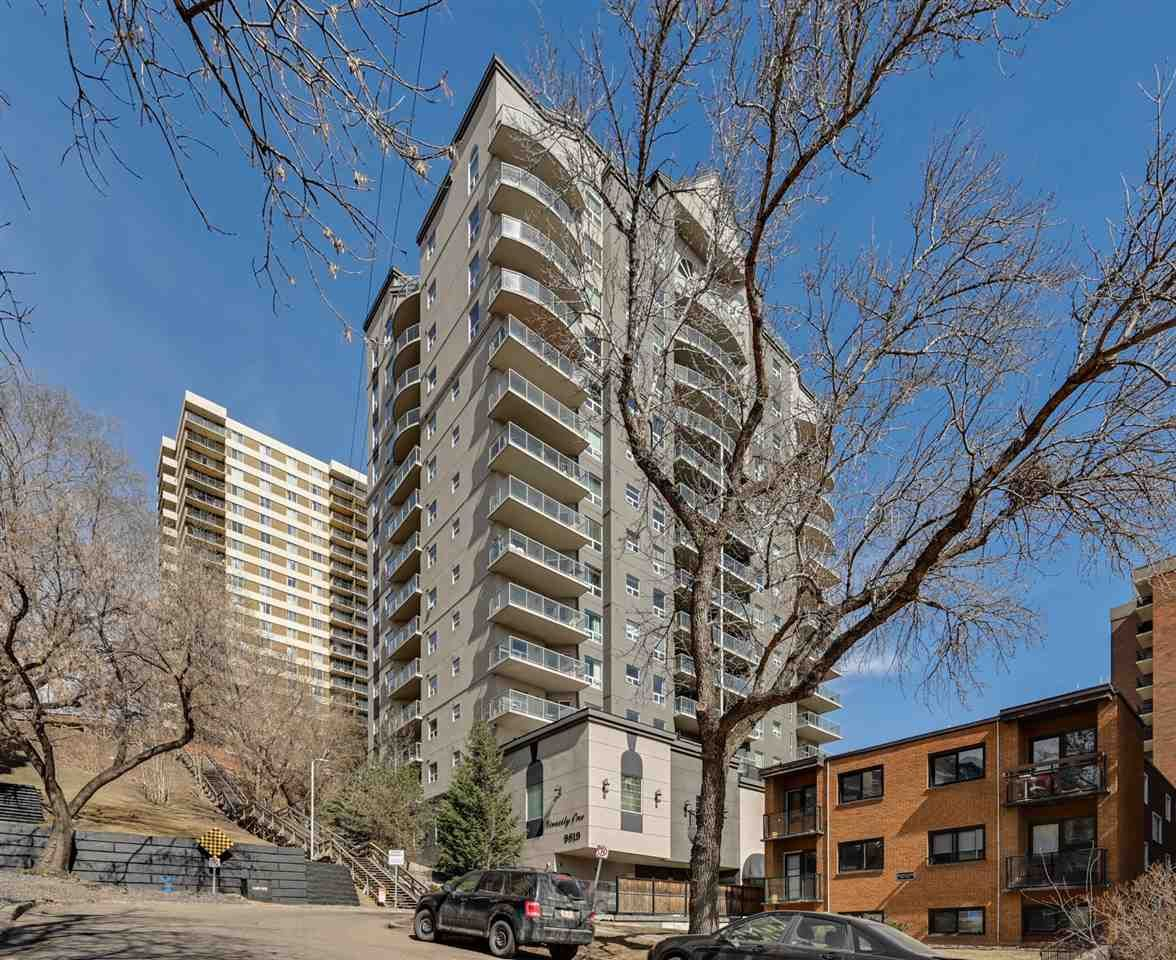 Main Photo: 1101 9819 104 Street in Edmonton: Zone 12 Condo for sale : MLS®# E4237960