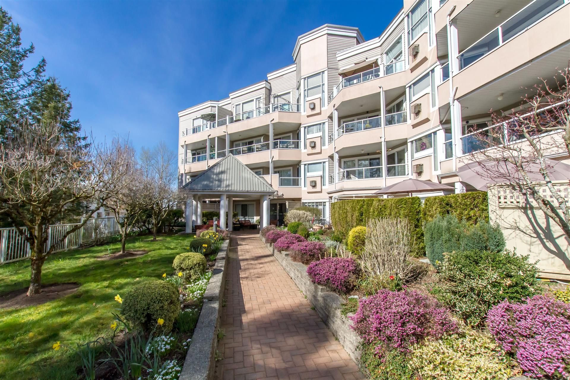 """Main Photo: 217 11605 227 Street in Maple Ridge: East Central Condo for sale in """"THE HILLCREST"""" : MLS®# R2382666"""