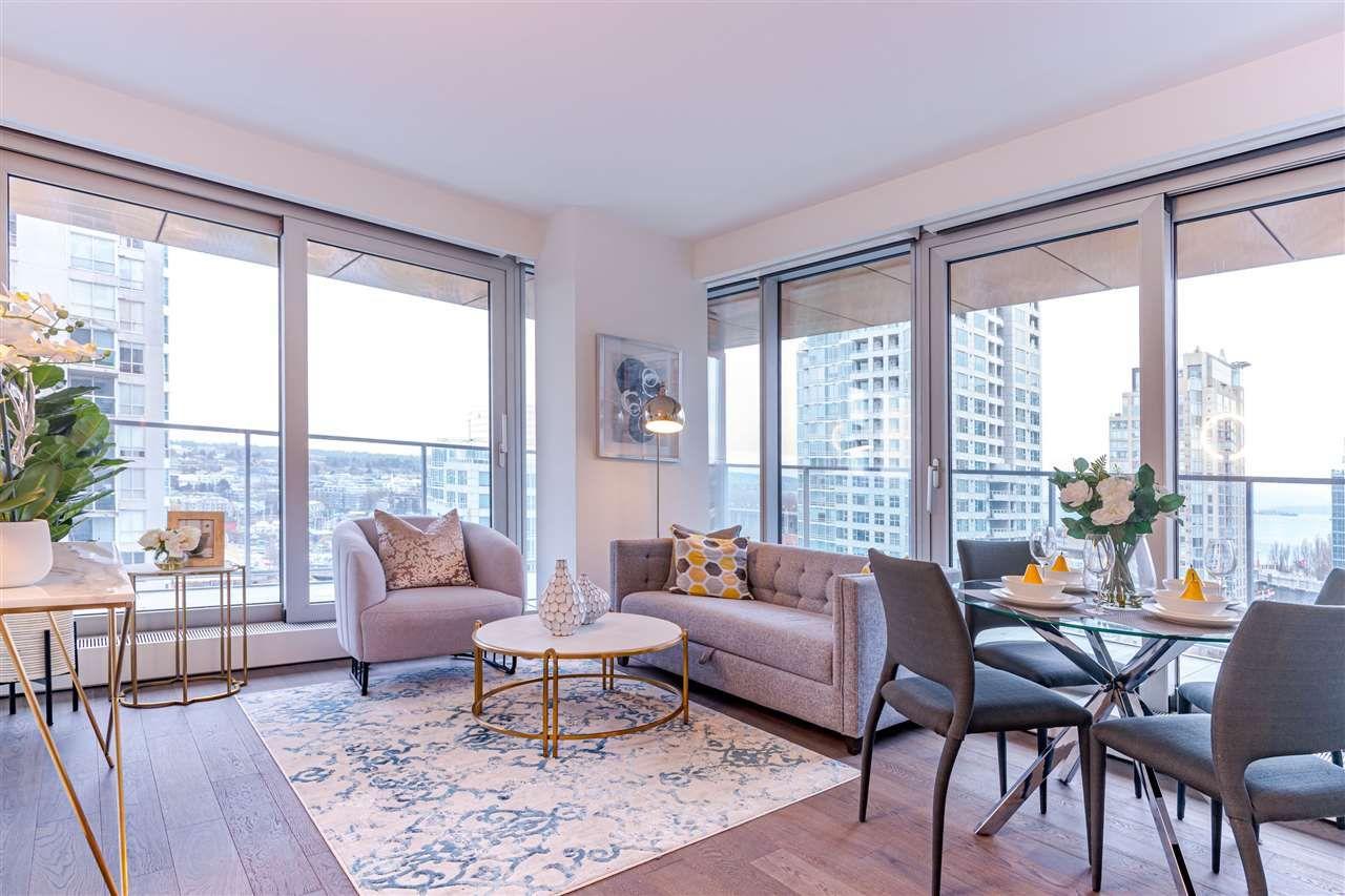 """Main Photo: 1705 1480 HOWE Street in Vancouver: Yaletown Condo for sale in """"VANCOUVER HOUSE"""" (Vancouver West)  : MLS®# R2517021"""
