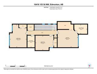 Photo 45: 10416 153 Street in Edmonton: Zone 21 House for sale : MLS®# E4235492