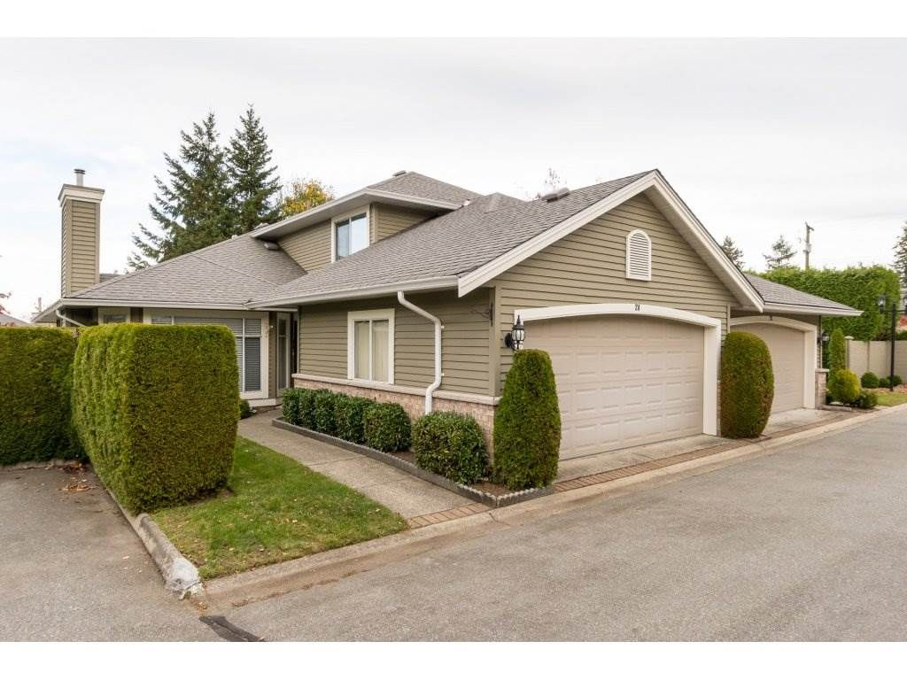 """Main Photo: 24 2672 151 Street in Surrey: Sunnyside Park Surrey Townhouse for sale in """"WESTERLEA"""" (South Surrey White Rock)  : MLS®# R2218316"""