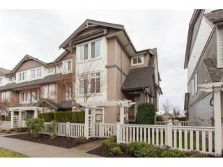 """Photo 1: 6 8250 209B Street in Langley: Willoughby Heights Townhouse for sale in """"Outlook"""" : MLS®# R2233162"""