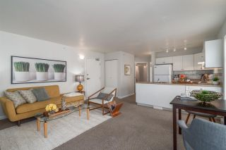 """Photo 1: 401 663 GORE Avenue in Vancouver: Mount Pleasant VE Condo for sale in """"THE STRATHCONA EDGE"""" (Vancouver East)  : MLS®# R2164509"""