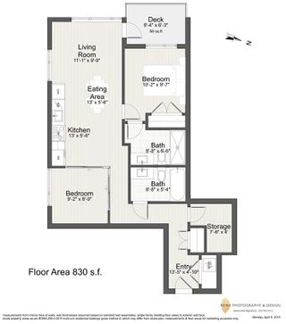 """Photo 20: 908 1661 QUEBEC Street in Vancouver: Mount Pleasant VE Condo for sale in """"Voda"""" (Vancouver East)  : MLS®# R2284074"""
