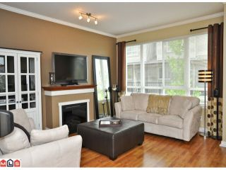 """Photo 2: 50 16789 60TH Avenue in Surrey: Cloverdale BC Townhouse for sale in """"Laredo"""" (Cloverdale)  : MLS®# F1014213"""