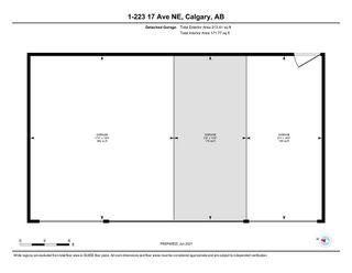 Photo 35: 1 223 17 Avenue NE in Calgary: Tuxedo Park Row/Townhouse for sale : MLS®# A1119296