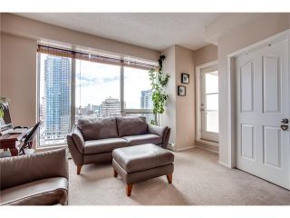 Photo 13: 1406 1053 10 Street SW in Calgary: Beltline Condo for sale : MLS®# C4110004