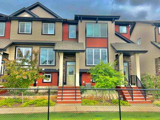 Photo 1: #11, 1776 CUNNINGHAM Way in Edmonton: Zone 55 Townhouse for sale : MLS®# E4248766