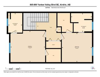 Photo 31: 805 800 Yankee Valley Boulevard SE: Airdrie Row/Townhouse for sale : MLS®# A1103338