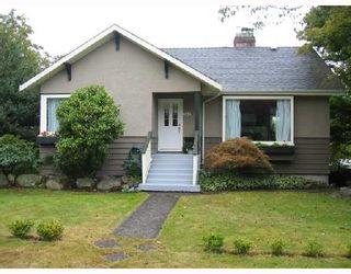 Photo 1: 2092 W 57TH Avenue in Vancouver: S.W. Marine House for sale (Vancouver West)  : MLS®# V669258
