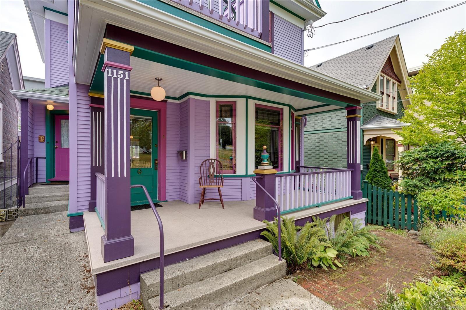 Main Photo: 1151 Pandora Ave in : Vi Fernwood House for sale (Victoria)  : MLS®# 886927