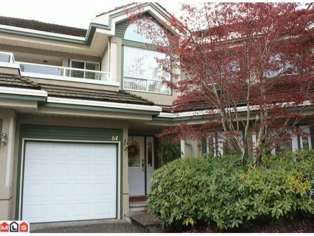 """Main Photo: 64 4001 OLD CLAYBURN Road in Abbotsford: Abbotsford East Townhouse for sale in """"Cedar Springs"""" : MLS®# F1009565"""