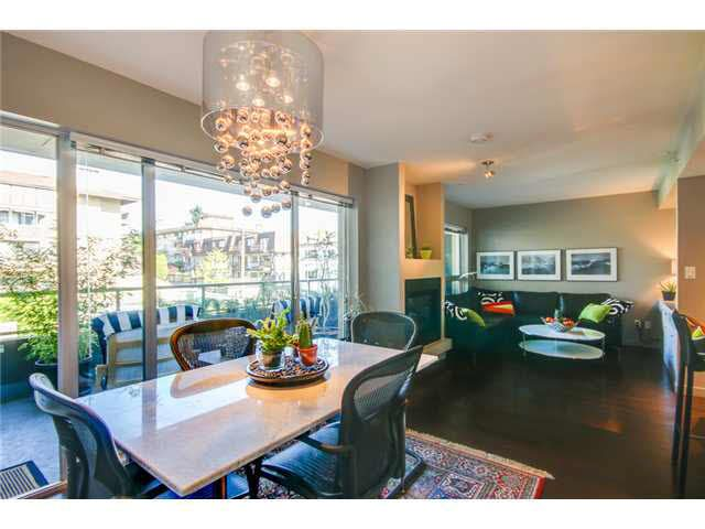 """Photo 8: Photos: 110 1288 CHESTERFIELD Avenue in North Vancouver: Central Lonsdale Condo for sale in """"ALINA"""" : MLS®# V1065611"""