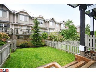 """Photo 10: 4 6747 203RD Street in Langley: Willoughby Heights Townhouse for sale in """"SAGEBROOK"""" : MLS®# F1013962"""