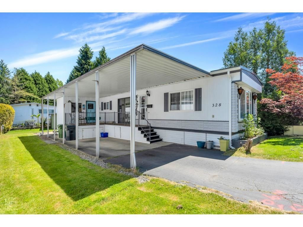 """Main Photo: 328 1840 160 Street in Surrey: King George Corridor Manufactured Home for sale in """"BREAKAWAY BAYS"""" (South Surrey White Rock)  : MLS®# R2593768"""