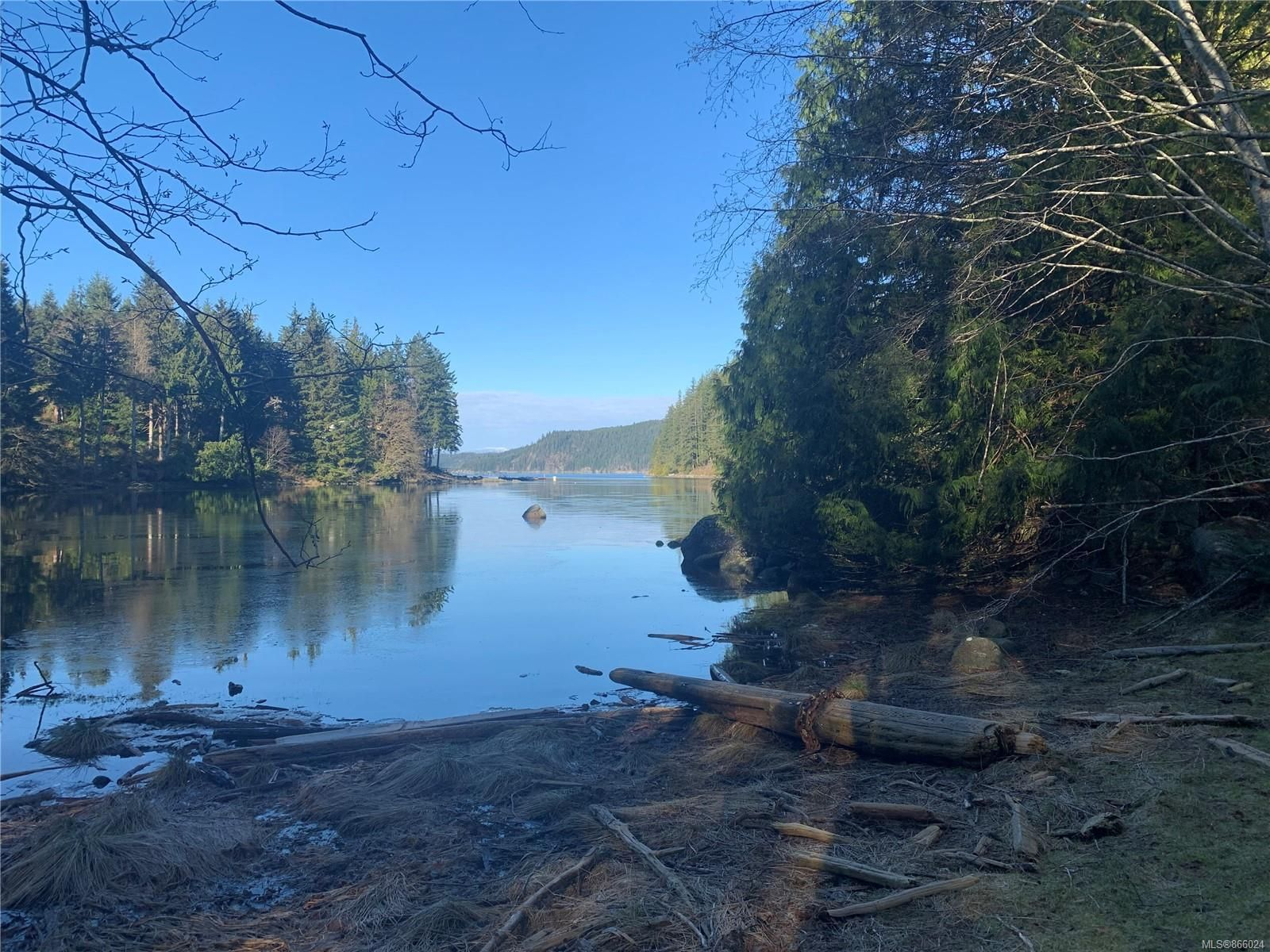 6.03 acre oceanfront property located at Granite Bay on the northwest side of Quadra Island!