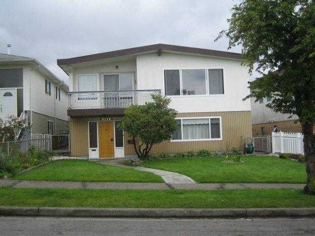 Main Photo: 3218 E 24TH Avenue in Vancouver: Renfrew Heights House for sale (Vancouver East)  : MLS®# V850672