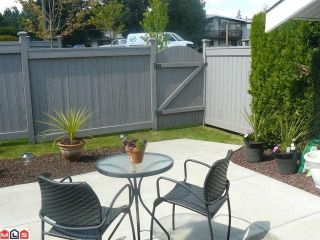 """Photo 10: 38 26970 32ND Avenue in Langley: Aldergrove Langley Townhouse for sale in """"Parkside Village"""" : MLS®# F1013794"""