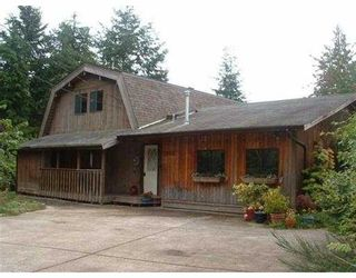 Photo 1: 1265 MARION PL in Gibsons: Gibsons & Area House for sale (Sunshine Coast)  : MLS®# V546096