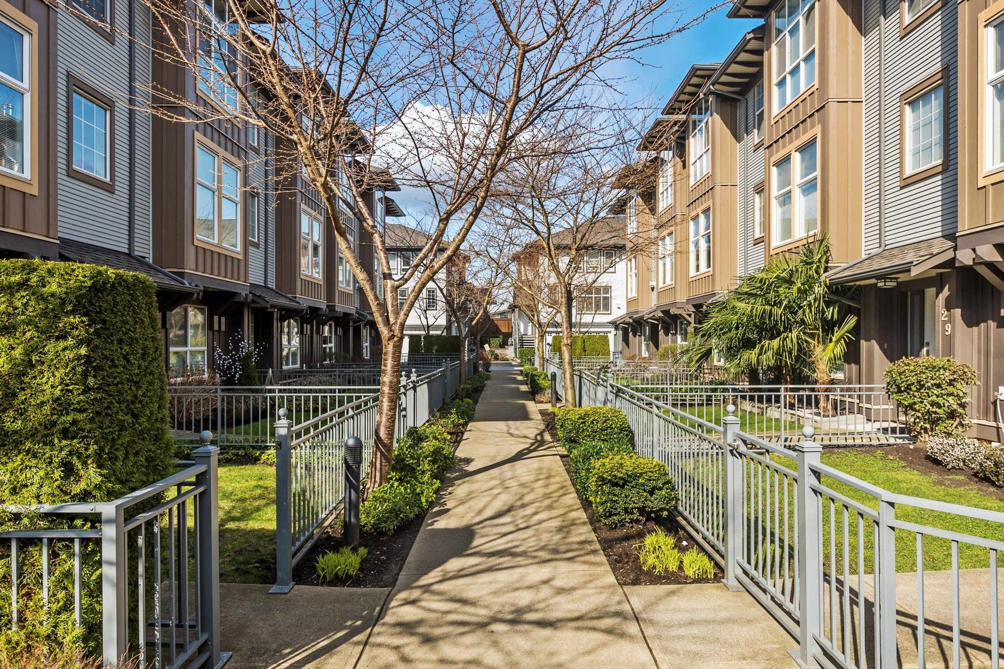 """Main Photo: 79 18777 68A Avenue in Surrey: Clayton Townhouse for sale in """"Compass"""" (Cloverdale)  : MLS®# R2594623"""