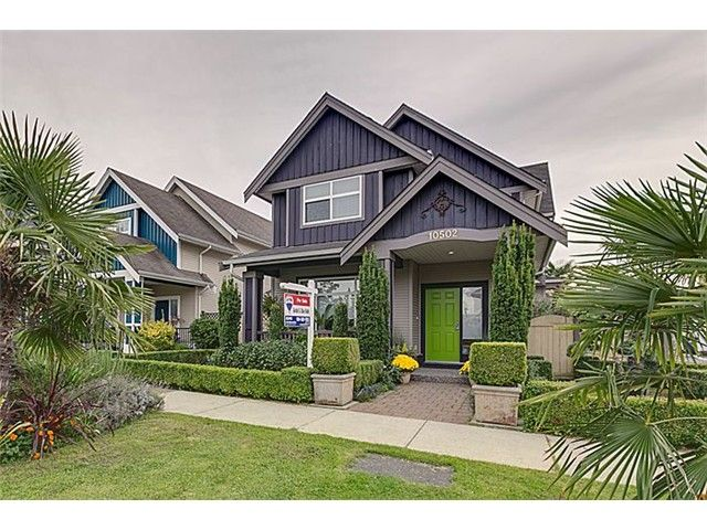 Main Photo: 10502 SHEPHERD Drive in Richmond: West Cambie House for sale : MLS®# V1087345
