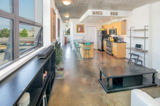 """Photo 1: 503 919 STATION Street in Vancouver: Mount Pleasant VE Condo for sale in """"LEFT BANK"""" (Vancouver East)  : MLS®# R2304592"""
