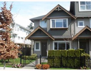 """Photo 1: 13 7733 HEATHER Street in Richmond: McLennan North Townhouse for sale in """"HEARTSTONE"""" : MLS®# V701542"""