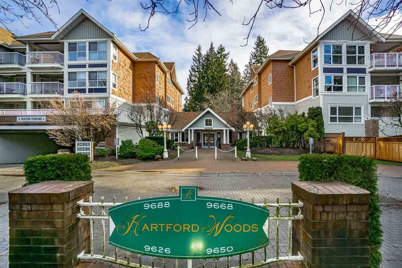 "Main Photo: 202 9668 148 Street in Surrey: Guildford Condo for sale in ""Hartford Woods"" (North Surrey)  : MLS®# R2502389"