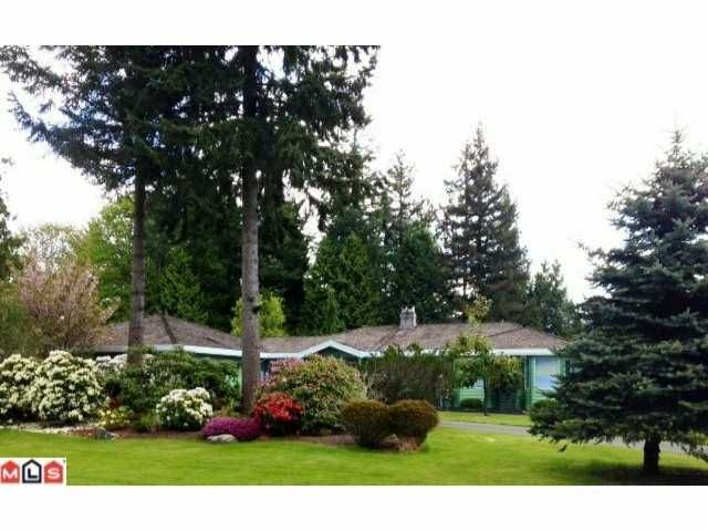 """Main Photo: 2148 179TH Street in Surrey: Hazelmere House for sale in """"REDWOOD PARK ESTATES"""" (South Surrey White Rock)  : MLS®# F1221013"""
