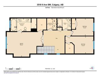 Photo 35: 3518 8 Avenue SW in Calgary: Spruce Cliff Semi Detached for sale : MLS®# C4278128
