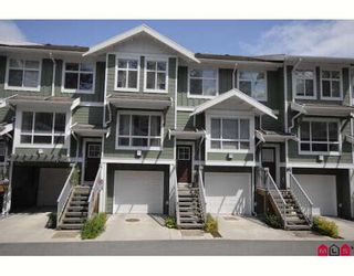 """Photo 1: 157 15168 36TH Avenue in Surrey: Morgan Creek Townhouse for sale in """"Solay"""" (South Surrey White Rock)  : MLS®# F2814921"""