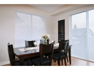 """Photo 3: 115 1460 SOUTHVIEW Street in Coquitlam: Burke Mountain Townhouse for sale in """"CEDAR CREEK"""" : MLS®# V984770"""