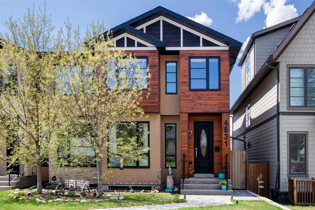 Main Photo: 4831 20 Avenue NW in Calgary: Montgomery Semi Detached for sale : MLS®# A1108874